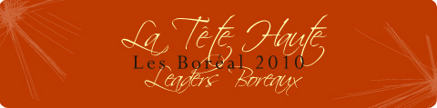 Prix boréal 2010: la tête haute leaders boréaux